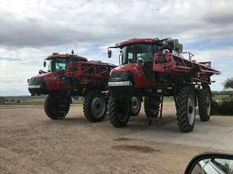 Boom times for Case IH Patriot Sprayers