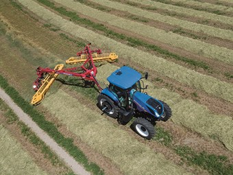 Wider New Holland Rolabar released