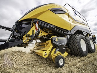 New Holland launches High Density baler