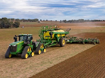 New air seeder for John Deere