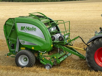 McHale V6740 and V6750 round balers released