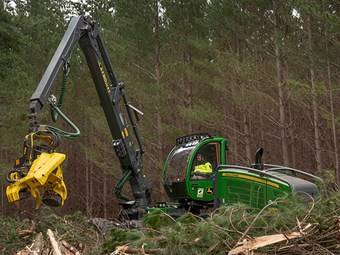 RDO Equipment delivers 50th forestry machine