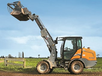 Giant Tobroco G500 wheel loader review
