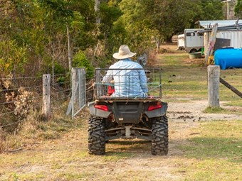 Quad bikes top cause of farm deaths