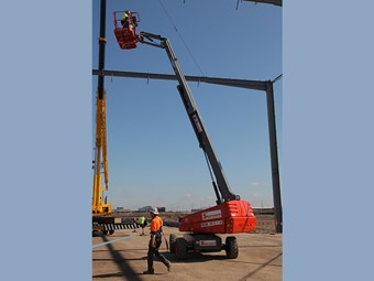 Skyreach adds new 15.7m boom lift to Melbourne fleet