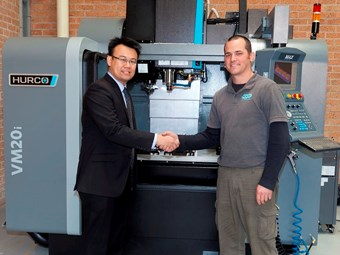 Custom installs new Hurco CNC for increased productivity