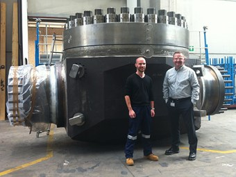 Massive valves destined for WA's Ichthys LNG Project