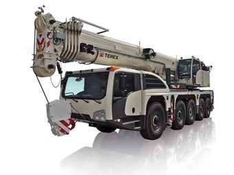 Terex introduces Explorer 5500 all-terrain crane