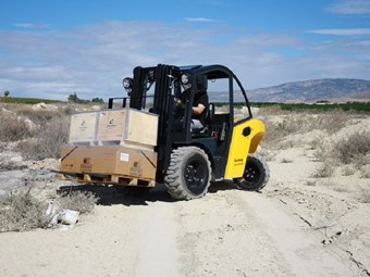 Australia to receive first Bomaq B50MP forklifts