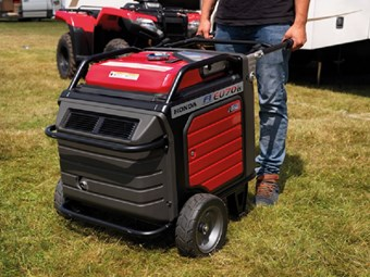 Honda powers up 2015 with new generator release