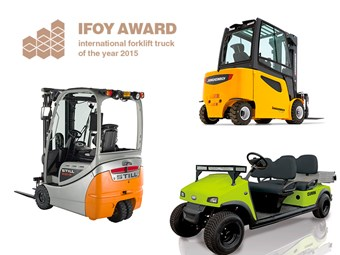 Forklift of the year finalists announced