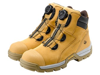 Wolverine Tarmac boot updated with knob fastening