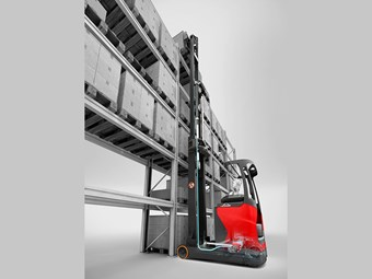 Linde develops reach truck operator-assist system
