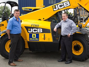 JCB-Allcott partnership takes hire higher