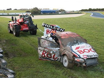 Manitou to keep lifting V8 Supercars