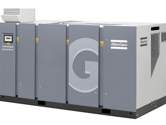 New Atlas Copco compressors with VSD offer greater energy savings