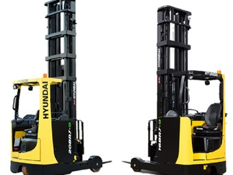 Hyundai unveils 9-series reach trucks