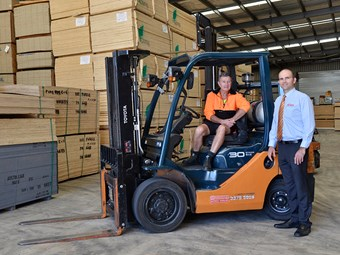 Equipment focus: Toyota 8FG30 forklift