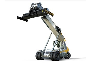 Liebherr introduces LRS 545 reachstacker