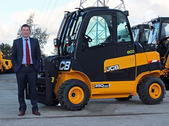 Awareness push for JCB Teletruk hybrid forklifts
