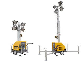 Atlas Copco introduces plug-and-play QLB 02 light tower
