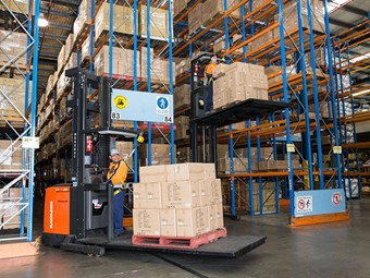 Unitrans adds 28 forklifts to Sydney Toyota fleet