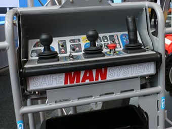 Manitou Safe Man System minimises EWP crushing risk