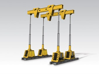 Enerpac launches advanced SL400 hydraulic gantry crane