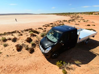 Renault Master impress in outback adventure