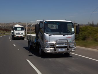 Isuzu shows off its telematics potential