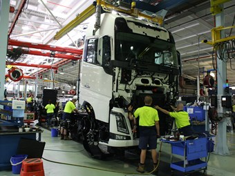 Kenworth V Volvo: Checking out the FH16