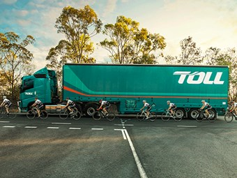 Volvo Trucks teams up with cyclists on safety