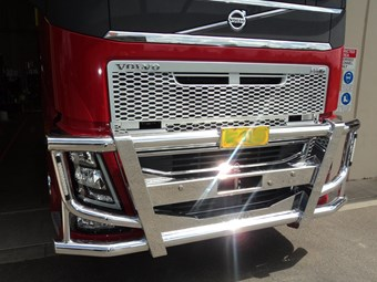 New range of bull bars for Volvo