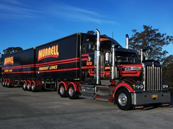 Kenworth T909 as good as it gets for Murrell Freight Lines driver