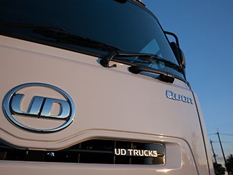 UD Quon truck review