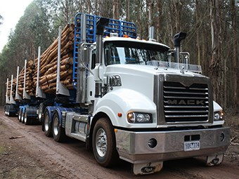 Mack Trident 6x4 Axle Back Truck Review