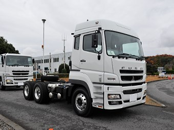 Fuso Heavy Duty 6x4, 8x4 truck reviews
