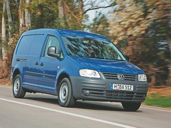 Volkswagen Caddy Maxi van review