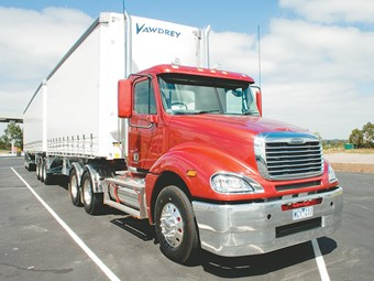 Freightliner Columbia truck review