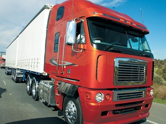 Freightliner Argosy Evolution '06 truck review
