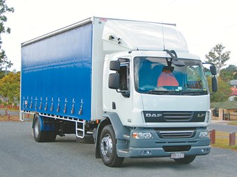 DAF LF 55 4x2 truck review