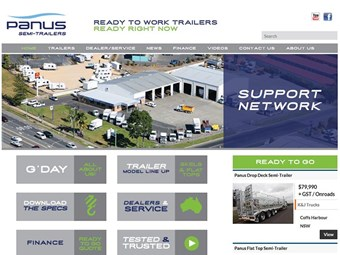 Panus Semi-Trailers launches new website