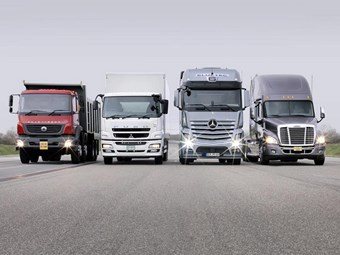 Daimler passes 500k mark for truck sales
