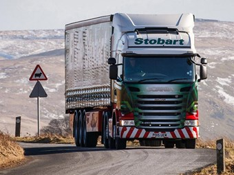 Scania signs record truck deal with Stobart