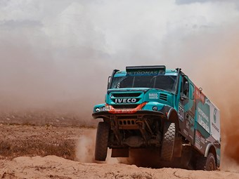 Iveco tops Dakar rally standings