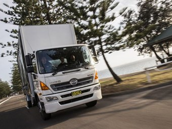 Hino truck sales the highest in seven years