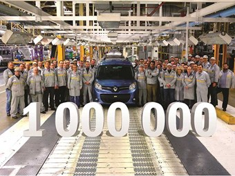 Renault sells millionth second-gen Kangoo model