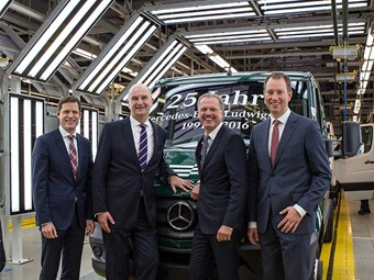 Daimler tips cap to unifying plant