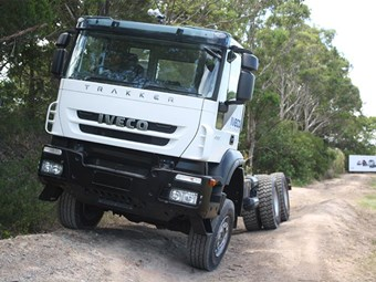 Test driving Iveco's new range