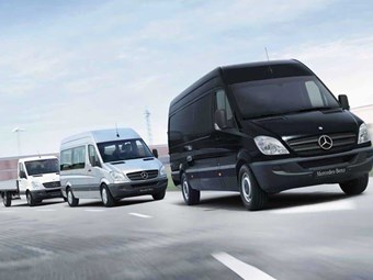 Mercedes-Benz recalls Sprinter vans